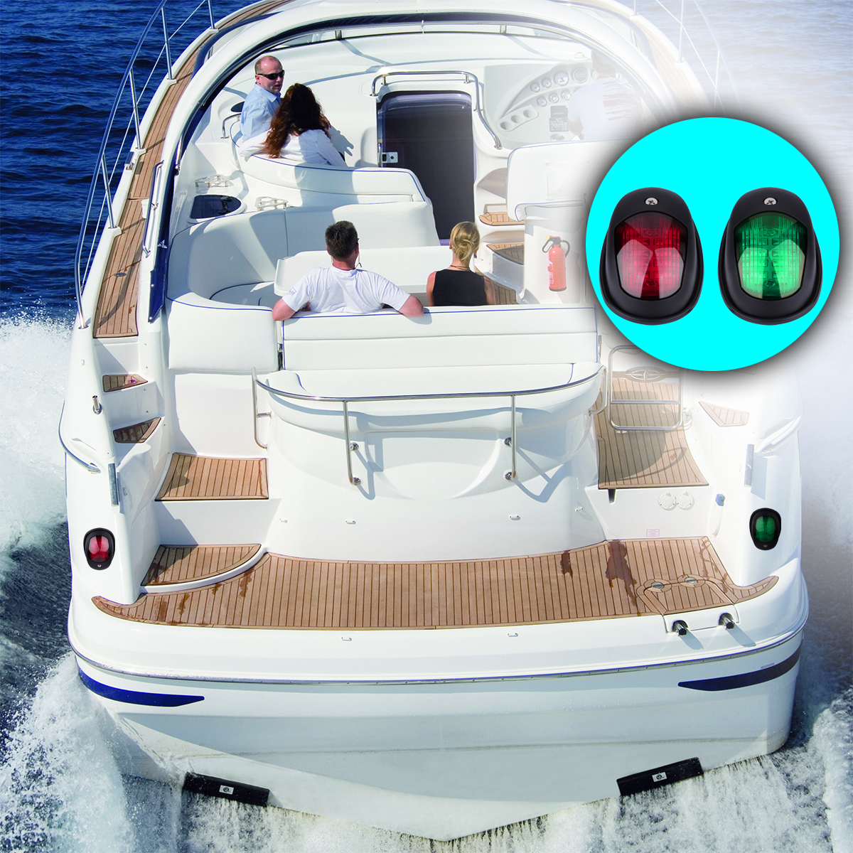 medium resolution of 1 pair of navigation lights green and red color red for port side and green for starboard side it can be use as bow light stern light or running light