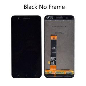 Image 2 - Новый ЖК дисплей 5,5 дюйма с Frmae для HTC ONE X10 X 10 X10w X10u, полный ЖК дисплей + кодирующий преобразователь сенсорного экрана в сборе для HTC E66 LCD