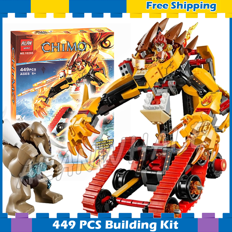 449pcs Laval's Fire Lion Mobile Mech Transform Tank Model 10295 Building Blocks Children Classic Gifts sets Compatible With Lego 449pcs bela 10295 laval s fire lion model diy building blocks for children sets classic bricks toys compatible with lego