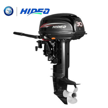 HIDEA Hot Selling Water Cooled 2-stroke 30 HP Marine Engine Outboard Motor For Boats  long shaft