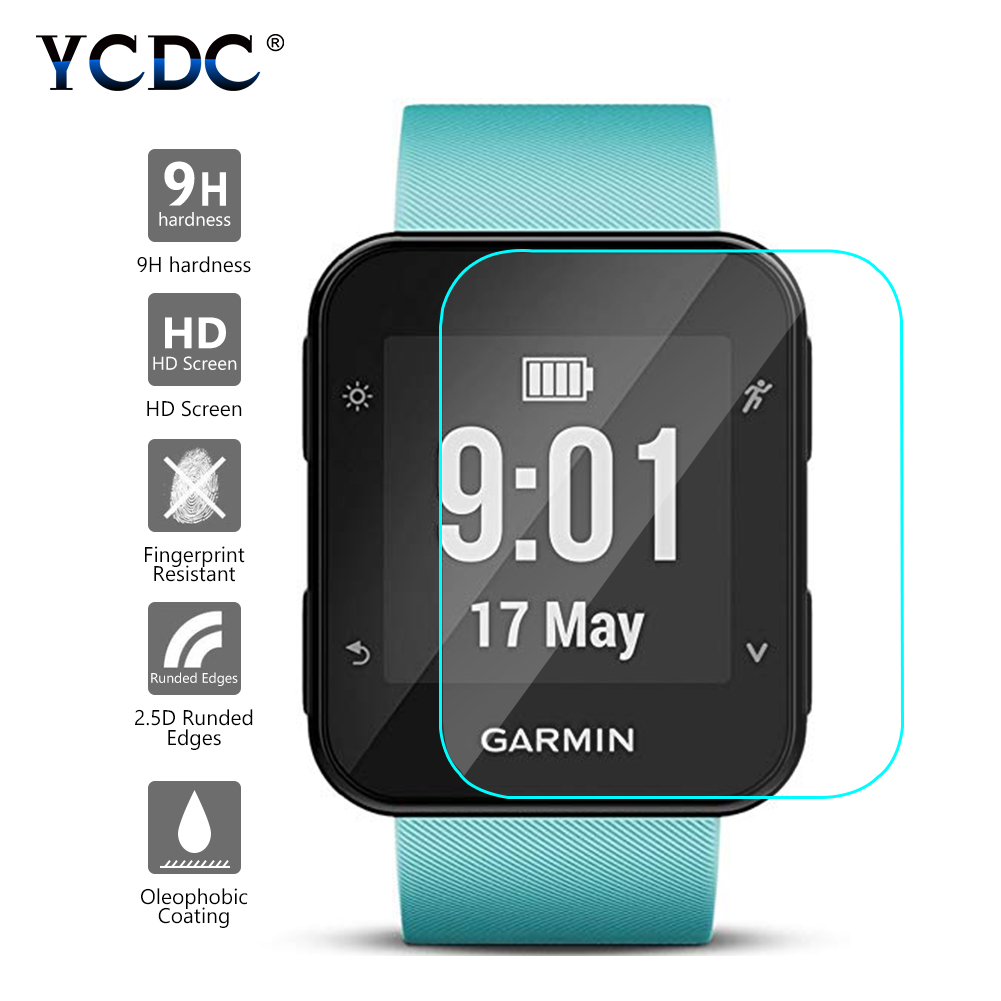 For Garmin Forerunner 35 Sport Smart Watch Tempered Glass 9H 2.5D Premium Screen Protector Film For Garmin Forerunner 35 Film