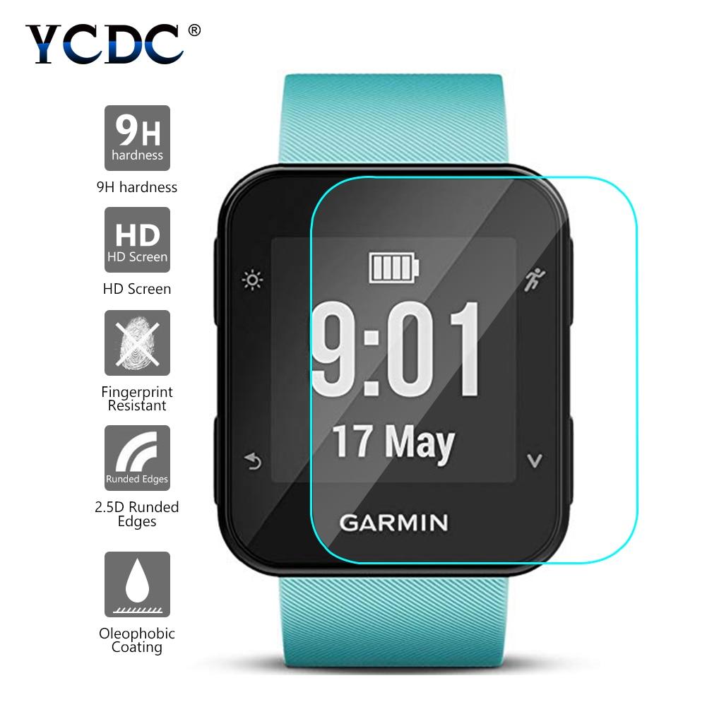 For Garmin Forerunner 35 Sport Smart Watch Tempered Glass 9H 2.5D Premium Screen Protector Film For Garmin Forerunner 35 Film-in Smart Accessories from Consumer Electronics