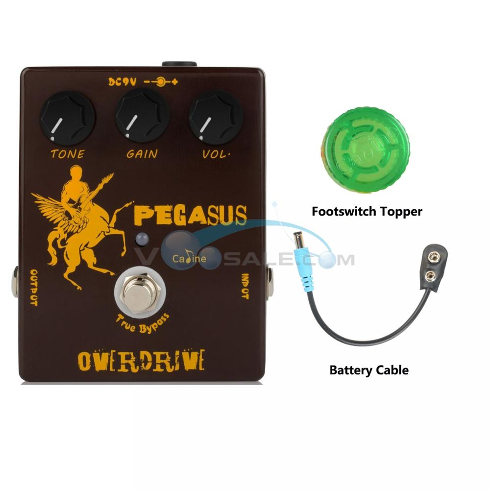 NEW Caline CP-43 Pegasus Overdrive Guitar Effect Pedal With True Bypass Guitar Accessories Aluminum Alloy Housing Guitar PedalNEW Caline CP-43 Pegasus Overdrive Guitar Effect Pedal With True Bypass Guitar Accessories Aluminum Alloy Housing Guitar Pedal
