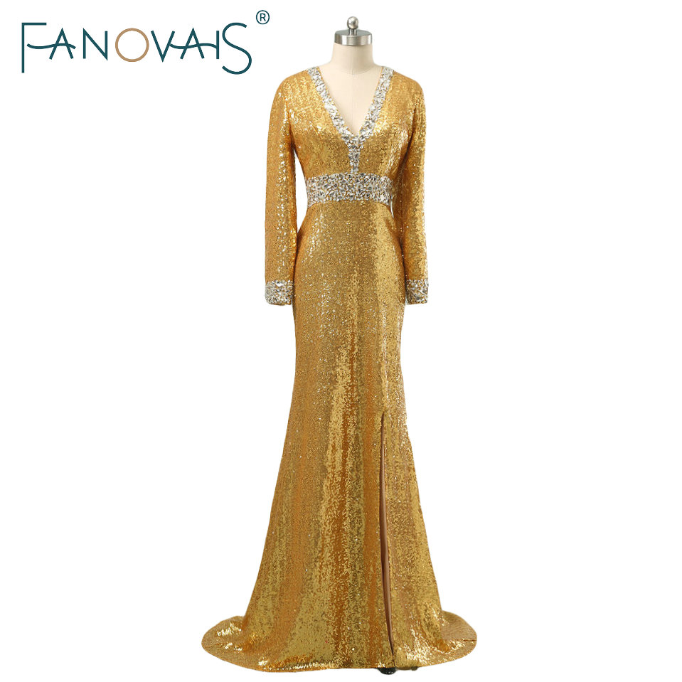 Compare Prices on Gold Evening Gowns- Online Shopping/Buy Low ...