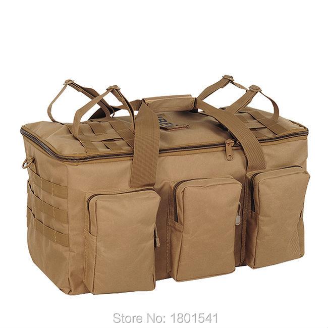 55L Hot Military font b Tactical b font Backpack Hiking Camping Daypack Shoulder Bag Men s