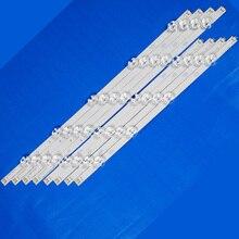 8 Cái/bộ Đèn Nền LED Dây Cho LG 47LB561V 47LB561U 47LB561B 47LB561U ZE ZC 47 Inchs Tivi Đèn Nền LED Ban Nhạc Thanh Đèn