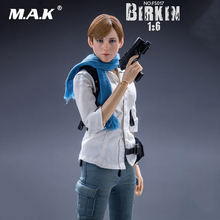 1/6 Collectible Full Set 12 inches FS017 Resident Evil 6 Sydney Birkin Platinum Removeable Action Figure Model for Fans Gifts