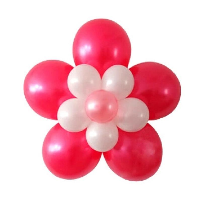 unids nuevo sello clip multi hoja hincha sticks globos globos accesorios flor del ciruelo
