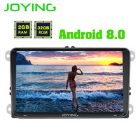 JOYING PX5 Octa 8 Core 2GB RAM Android 8.0 Car Radio Player for VW GOLF 5/6 Polo/Passat/Jetta/Tiguan/Touran/EOS GPS Navigation