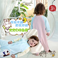 Baby Spring And Autumn Thin Sleeping Bag Cute Cartoon Pure Cotton Anti Kick Split Sleepsacks