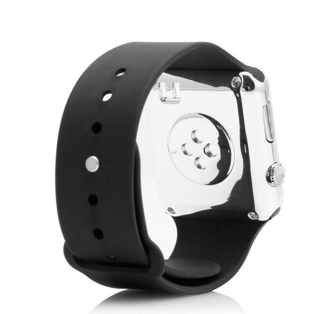 Montre numérique hommes femmes Silicone LED Sport montre-Bracelet numérique 3