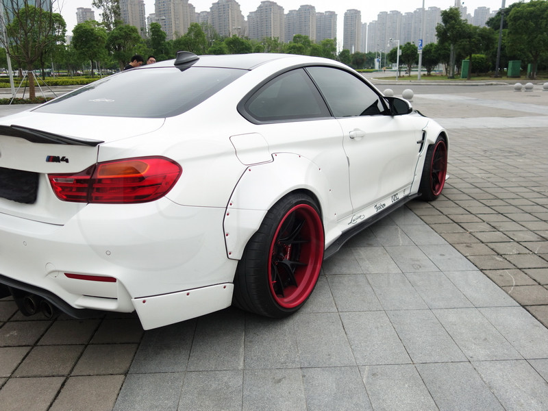 2014-2016 BMW F82 M4 LB Performance Style Body Kit CF (55)