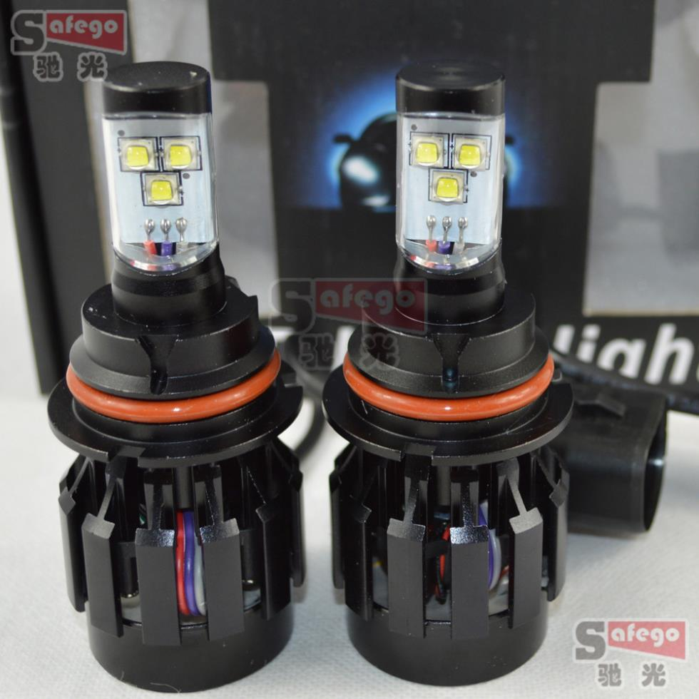 ФОТО 1set 6000LM 60w cree 9004 led headlight lamp Hi/Lo car auto led headlight Intergrated led headlight bulb LED Fog