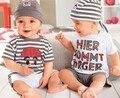 Venta al por menor, precio de la actividad de los bebés del verano moda 3 unids traje con tapa, juego corto de la manga, envío gratuito, en stock, venta al por mayor