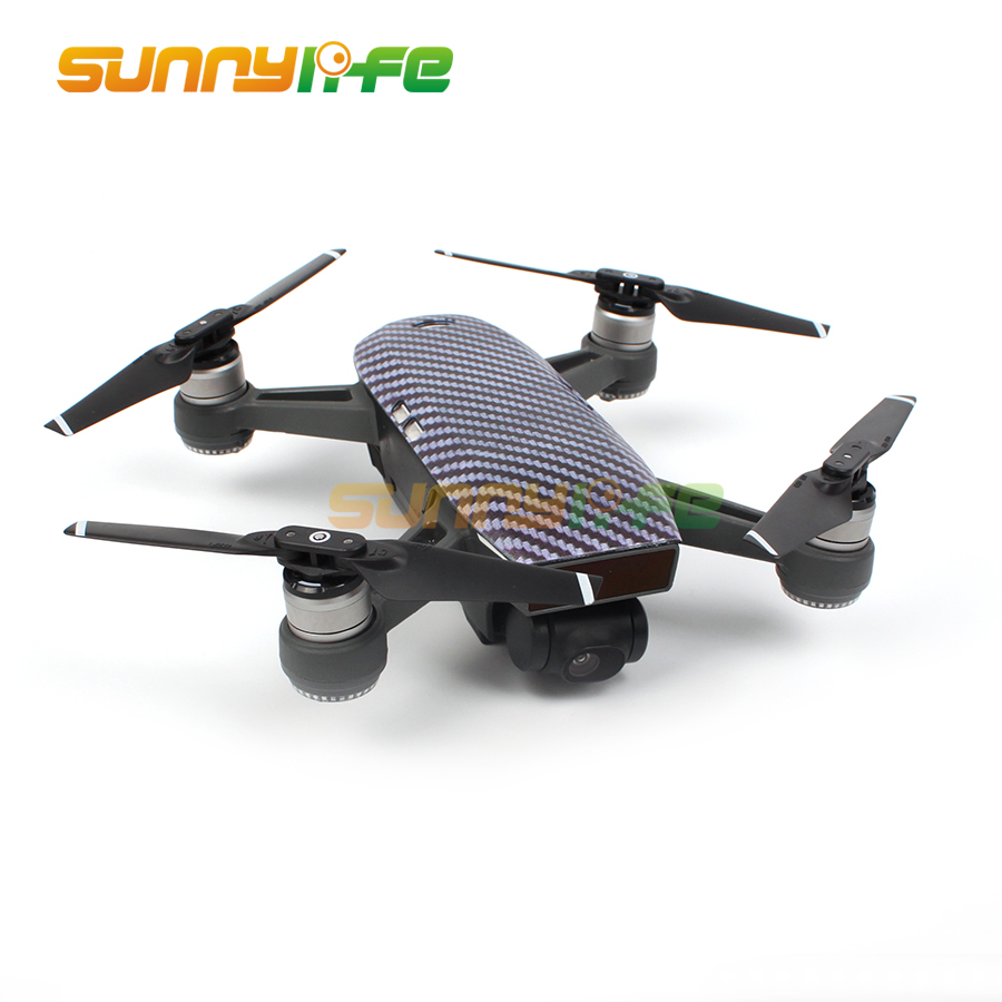 Colorful Creative Chassis Case for DJI SPARK FPV Drone Quadrocopter Short Versio