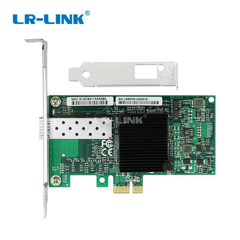 LR-LINK 9260PF-SFP PCI-Express Gigabit Ethernet Network Card 1000Mb Fiber Optical Server Lan Adapter Desktop PC Intel 82576 Nic small motherboard computer cases server 1 rtl8111dl onboard nic gigabit lan wake on lan or wifi network