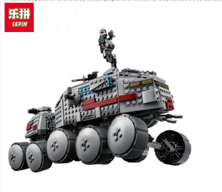 933Pcs 05031 Star Clone Turbo Tank Wars 75151 Building Blocks Compatible with 75151 Toys 05031 Boys Gifts