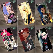 Bixedx TPU New Style For Huawei G8 Honor 5C 5X 6 6X 7 8 9 Y5II Mate 9 P7 P8 P9 P10 P20 Lite Plus 2017 Tattoo Punk Princess