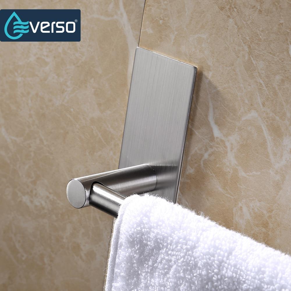 EVERSO Stainless Towel Rack Bathroom Towel Rail Towel Holder Stainless Steel Towel Bar