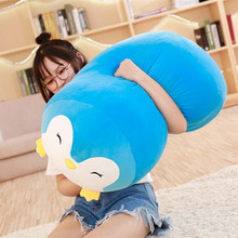 60/30CM Japanese Super Soft Plush Toys frog&penguin&cat&dog Cartoon Baby Pillow High Quality Christmas Gifts For Kids