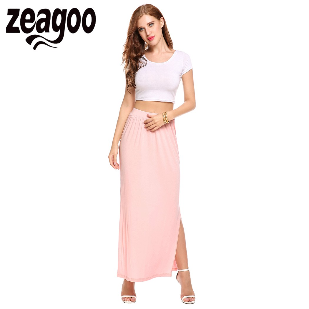 Compare Prices on Long Split Skirt- Online Shopping/Buy Low Price ...