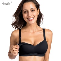 Women S Full Coverage Lightly Padded Wirefree Nursing Maternity Feeding Bra