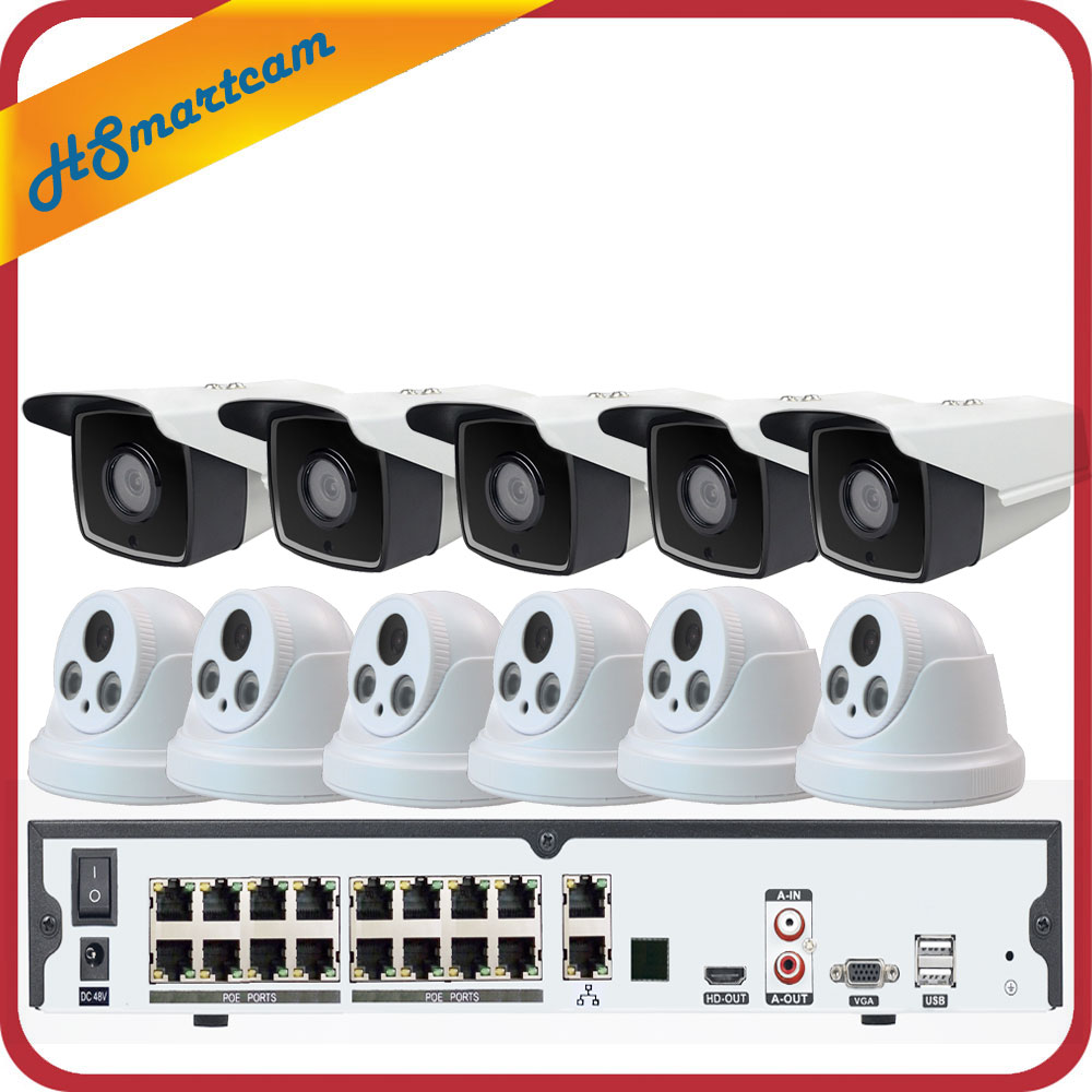 Image 2 - 16CH 5MP POE H.265 NVR 3MP CCTV Camera P2P Waterproof + 5MP 30X ZOOM Speed Dome PTZ Camera Security System + POE 4TB HDD-in Surveillance System from Security & Protection