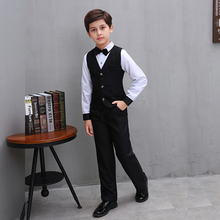 4pcs Gentleman Clothing Suits For Teenagers Boys New