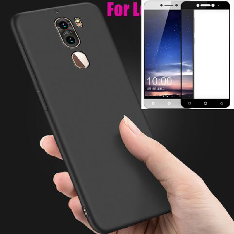 free shipping 0c1f6 baef6 For Letv Leeco Cool 1 Case With Full Tempered Glass For Leeco Coolpad Cool  1 R116 Cool1 Dual C106 c106-7 C106-9 LeRee Le3 bag