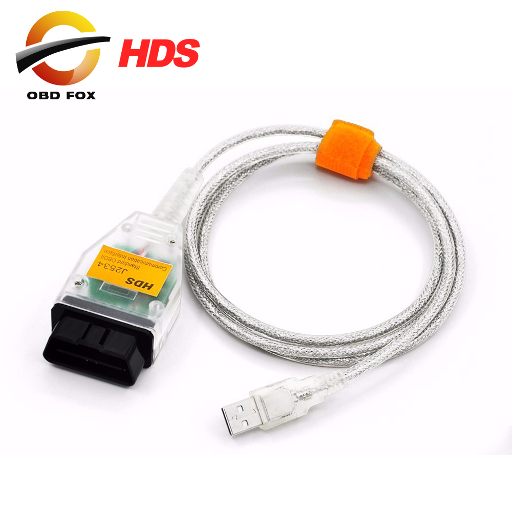 Prix pour HDS J2534 v1.4.1 OBDII OBD2 Câble De Diagnostic J2534 pour Honda CAN Bus Outil De Diagnostic De Haute Qualité Livraison gratuite