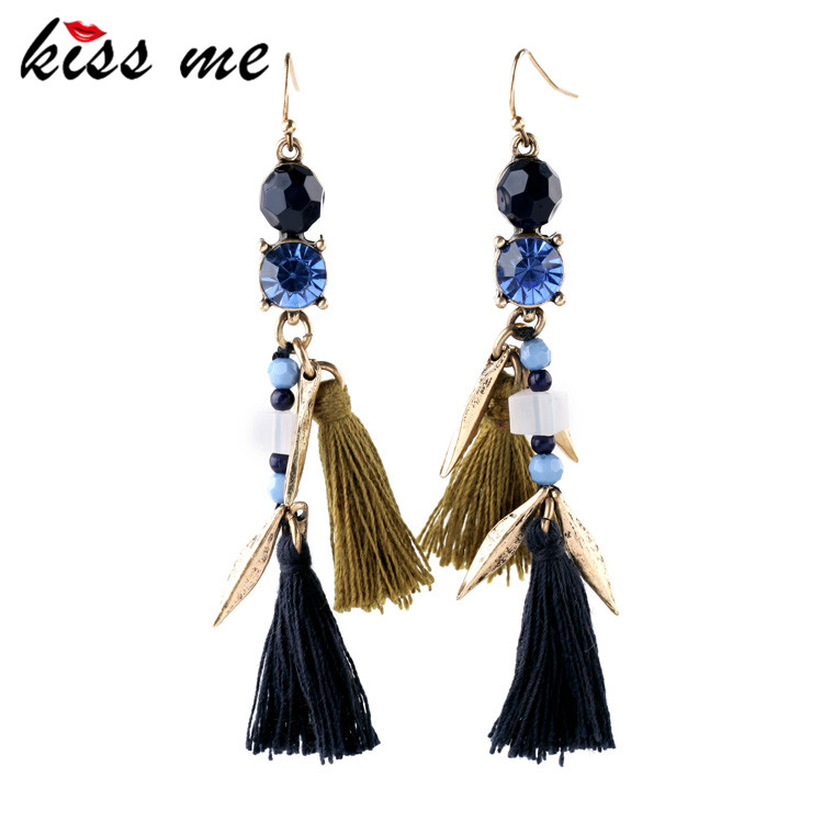 Bohemian Tassel Earrings Drops Aliexpress Best Seller New Statement Jewelry Factory Wholesale