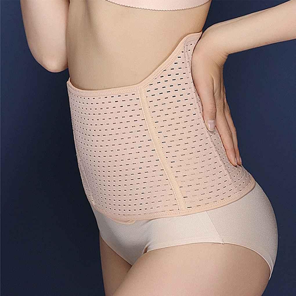 0702a2a7457 Promote Postpartum Women Magnetotherapy Abdomen Belt Ventilation Adjustment  Thin Belly Close Lower Abdomen Corset Belt