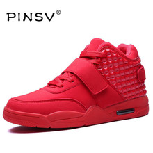 Hot Sale Men Casual Shoes Red Bottoms Shoes For Men High Top Leather Shoes Men Flats