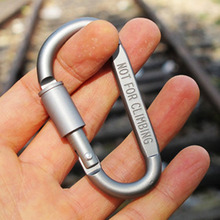 Carabine Travel Kit font b Camping b font Equipment Alloy Aluminum Survival Gear Camp Mountaineering Hook