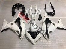 Unpainted Plástico ABS Molde De Injeção Kit Carenagem Body Kit Para Kawasaki Ninja650 ER6F ER-6F 2017 2018 17 18