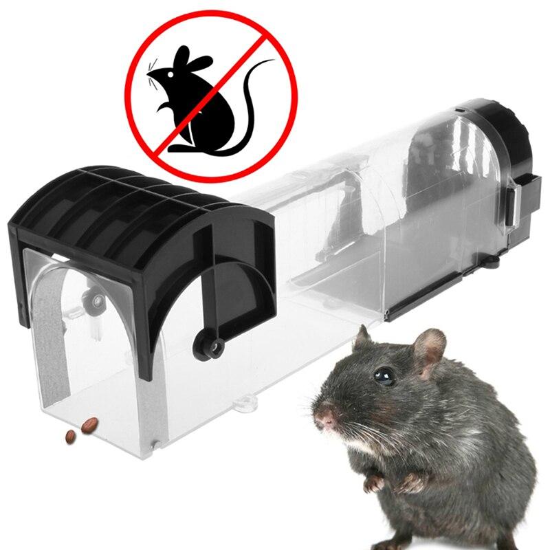 Ratones ratonera repelente de plagas rechazar inundación jaula para ratas roedores abrazadera repelente de plagas hormiga trampa para ratas Hogar automático continua ratonera reutilizable gran trampa para ratones jaula de roedores de gran efecto