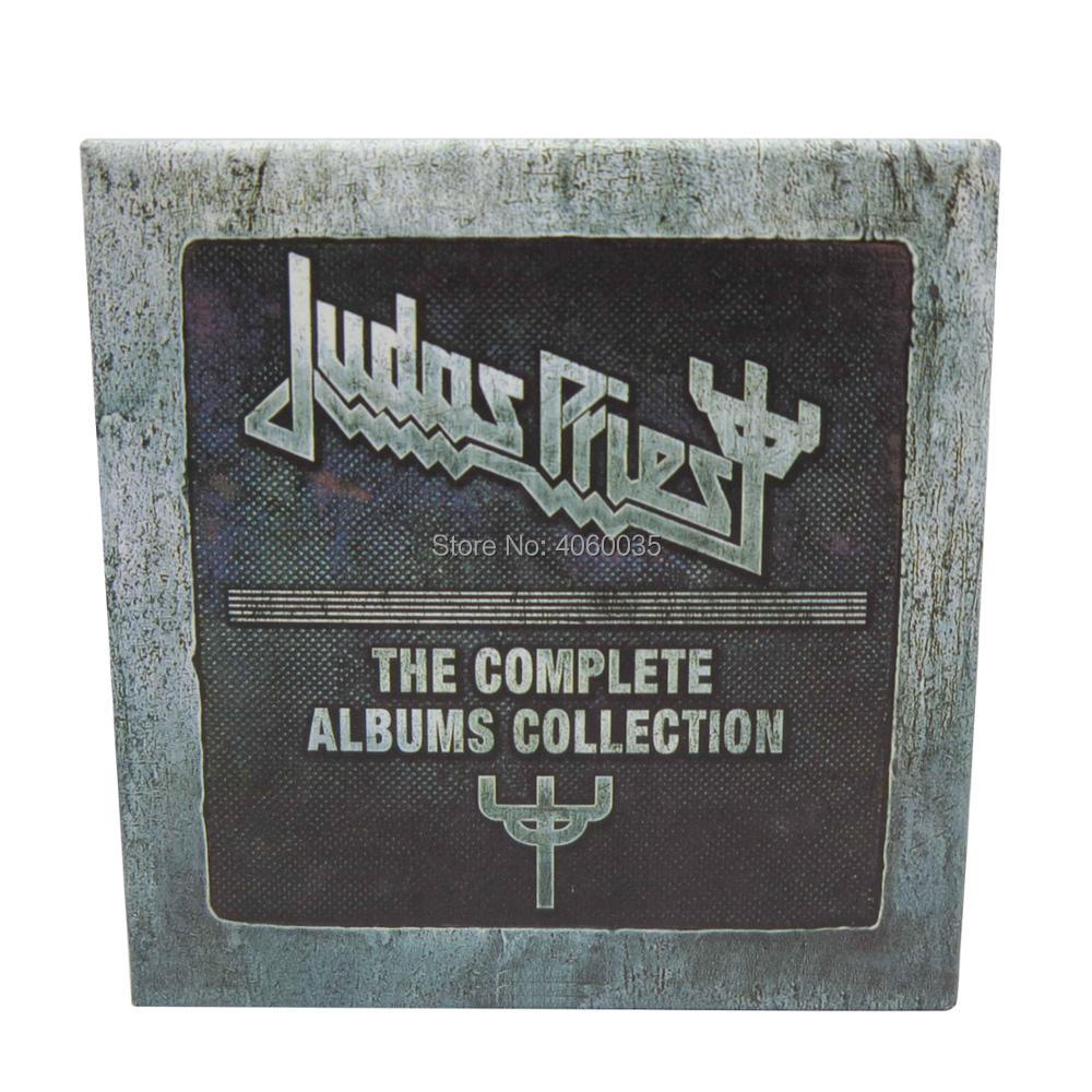 Brand new Factory seal the Judas Priest The Complete Albums Collection 19discs with Booklets Box Set андреа бочелли andrea bocelli the pop albums 14 lp