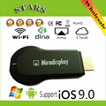 miradisplay miracast Dongle DLNA Mirror Tv Stick Wireless HDMI WiFi Display Airplay Receiver better EZCast M2 iOS 9.0 Window8.1