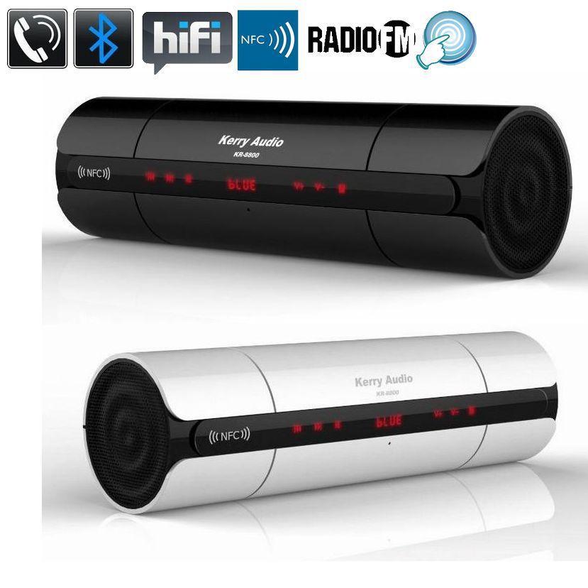 2017 TOP Qualité NFC HIFI TF Bluetooth Haut-Parleur Sans Fil Stéréo Portable haut-parleurs Bluetooth Boombox Super Bass MP3 Lecteur