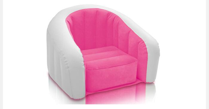 69x56x48cm authentic INTEX hairy U shaped children inflatable sofa ...