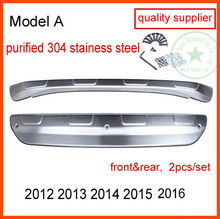 upgraded thicken skid plate bumper guard bumper protection bull bar for Mazda CX-5, 2PCS/set, quality supplier,quality guarantee