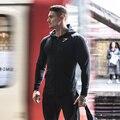 2017 primavera casaco jaqueta de fitness Musculação Gymshark Homens Hoodies camisetas pullover hombre Camisolas sportswear homens Musculares