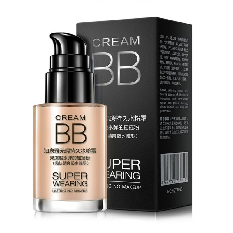 Whitening BB Cream Skin Base Care Sun Block Moisturizing Ageless Anti Chapping Anti Wrinkle Brighten Natural Beauty