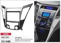 Рамки + Android 6.0 dvd-плеер автомобиля для Hyundai Sonata i-45 i45 YF 2010-2014 руководство AC стерео магнитола штатные