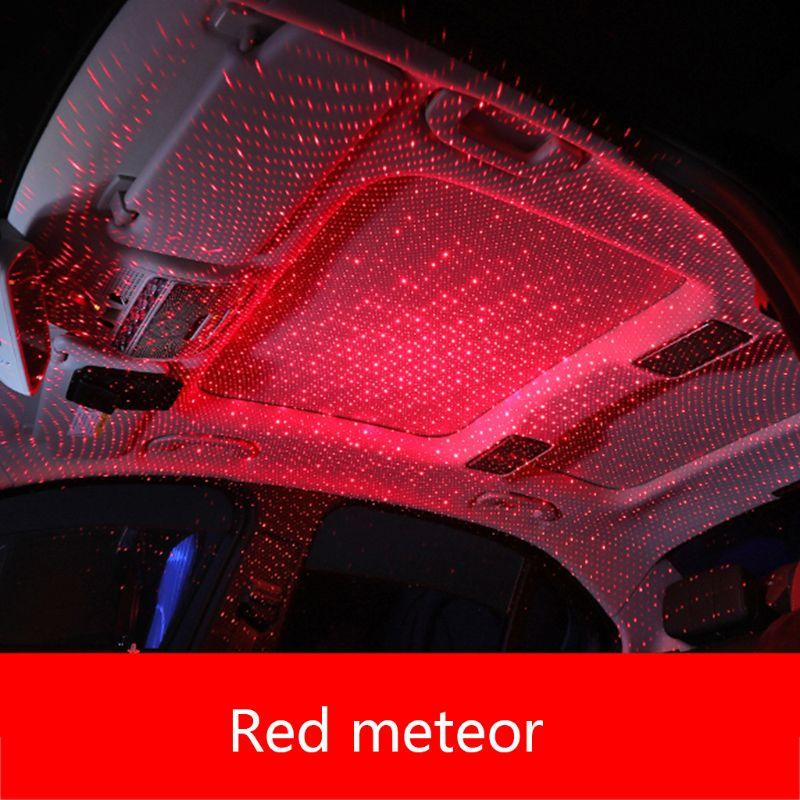 Car USB LED Car Atmosphere Ambient Star Light DJ RGB Colorful Music Sound Lamp Christmas Interior Decorative Light