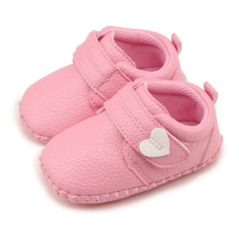 Baby Boy Shoes Toddler Infant Shoes PU Leather Moccasins Baby Girl Shoes Causal Baby Soft Soled Non-slip Footwear