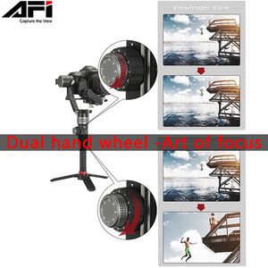Image 3 - AFI D3 Gimbal Stabilizer For Camera Gimbal Dslr Handheld 3 Axis Stabilizer Video Mobile With Servo Follow Focus For All Models