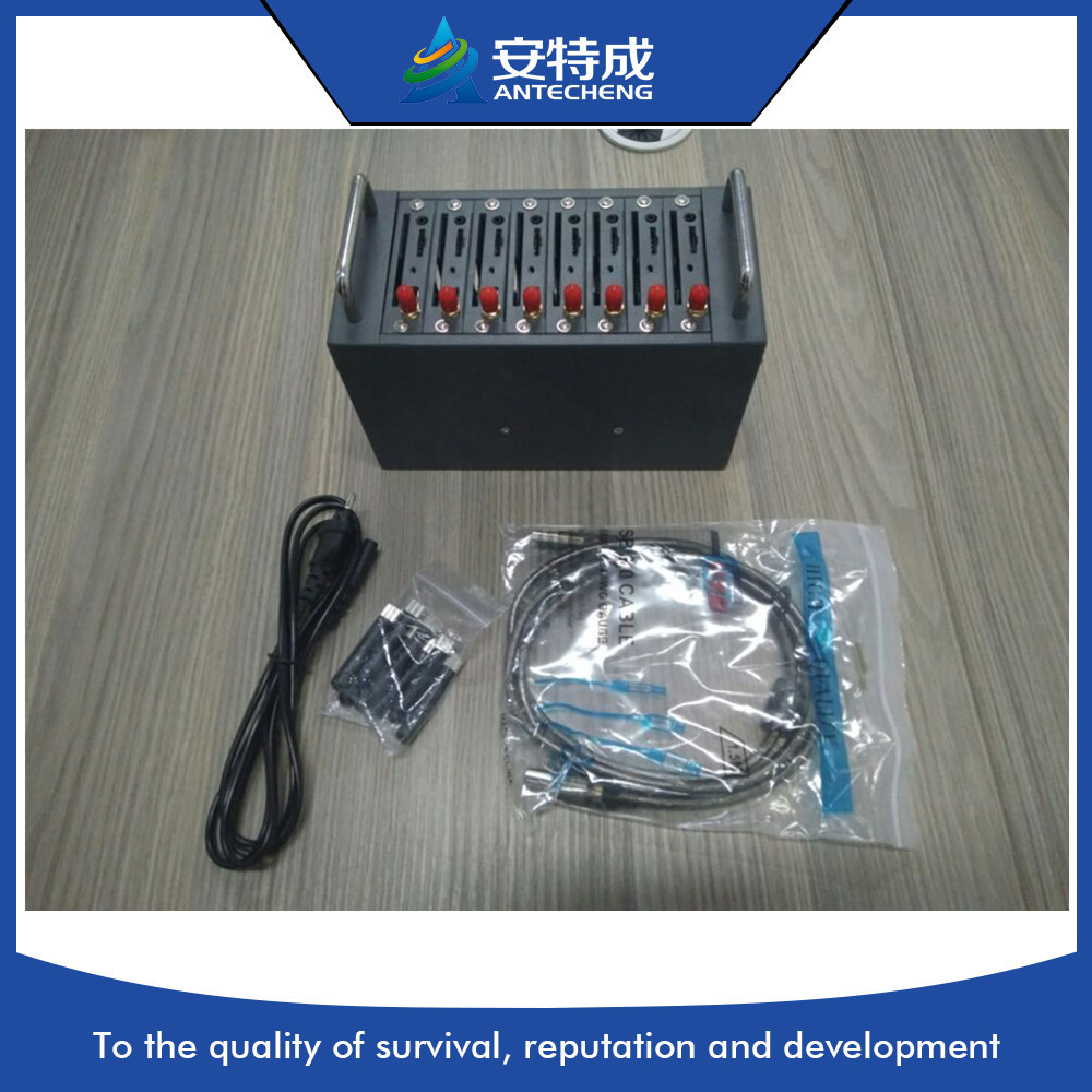 Meilleur prix 8 Ports Gsm Modem, Multi carte Sim Gsm Modem 8 Ports en vrac Sms passerelle matériel, MTK M35 gsm modem pool - 4