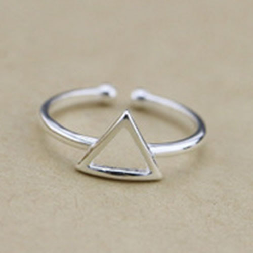 New Fashion Real 100% 925 Sterling Silver Cuff Rings