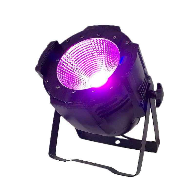 SHEHDS 2018 LED Par COB 100W RGBWA+UV 6in1 High Power Aluminium Case Stage Lighting with Dmx512 Control 5 Colors Available